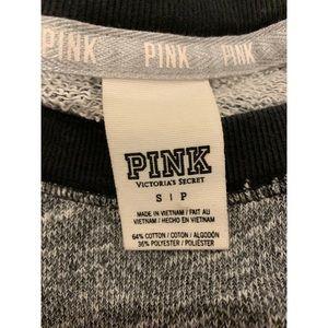 PINK Victoria's Secret Tops - Victoria's Secret PIINK gray crew neck sweatshirt